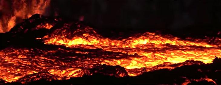 Suite à l'éruption du volcan Kilauea, il a plu des pierres précieuses à Hawaii ! Lave-kilauea