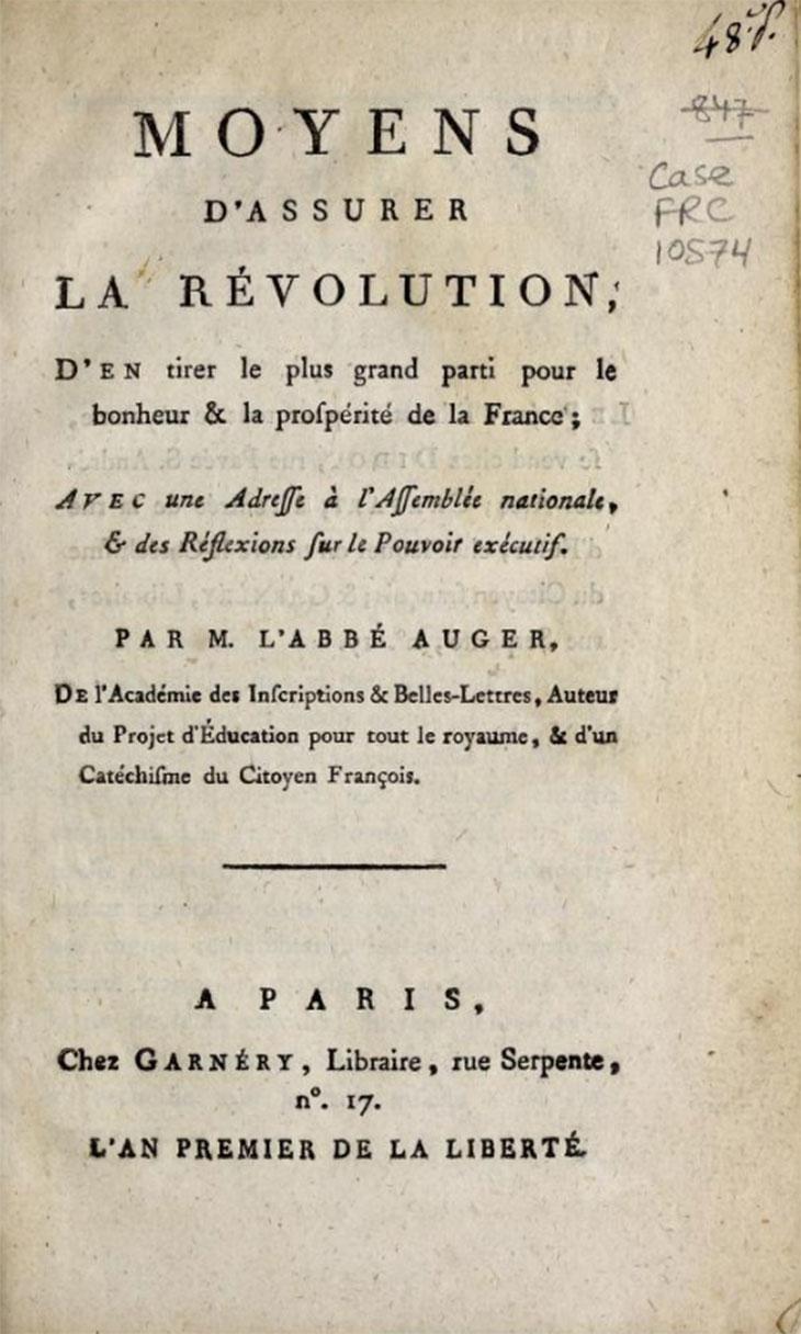Revivez la Révolution française avec ces 38 000 pamphlets qui viennent d'être dévoilés au public ! Par Mathilde Rochefort                   Pamphlet-france