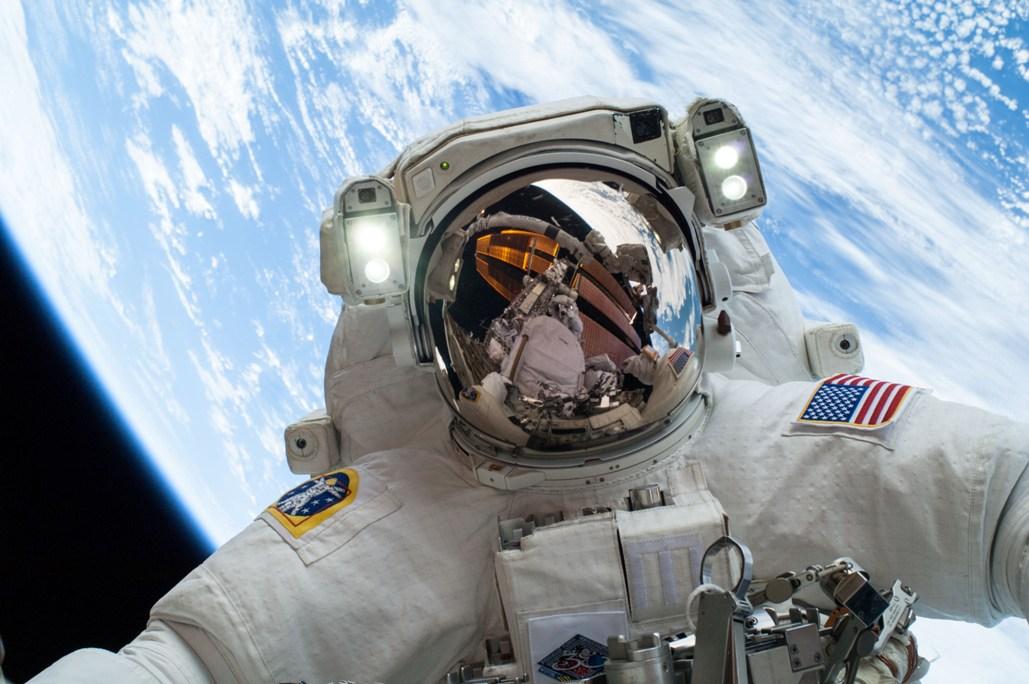 Mike Hopkins dans l'espace