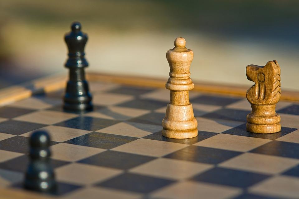 Un plateau d'échecs