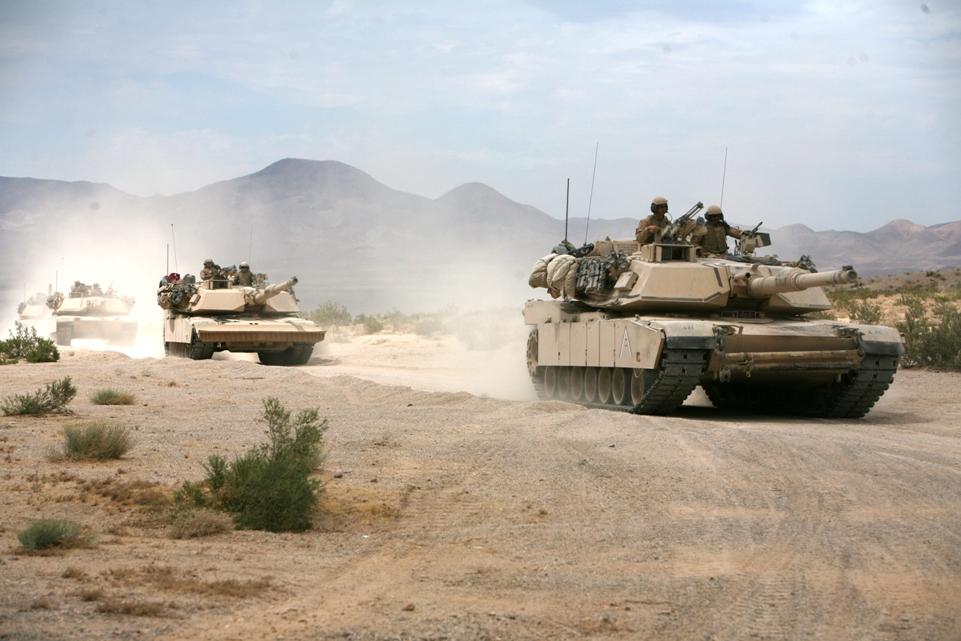 Des tanks très récents