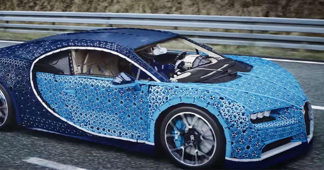 Lego r alise une prouesse technique et fait rouler une voiture fabriqu e avec un million de briques - Image de vehicule ...