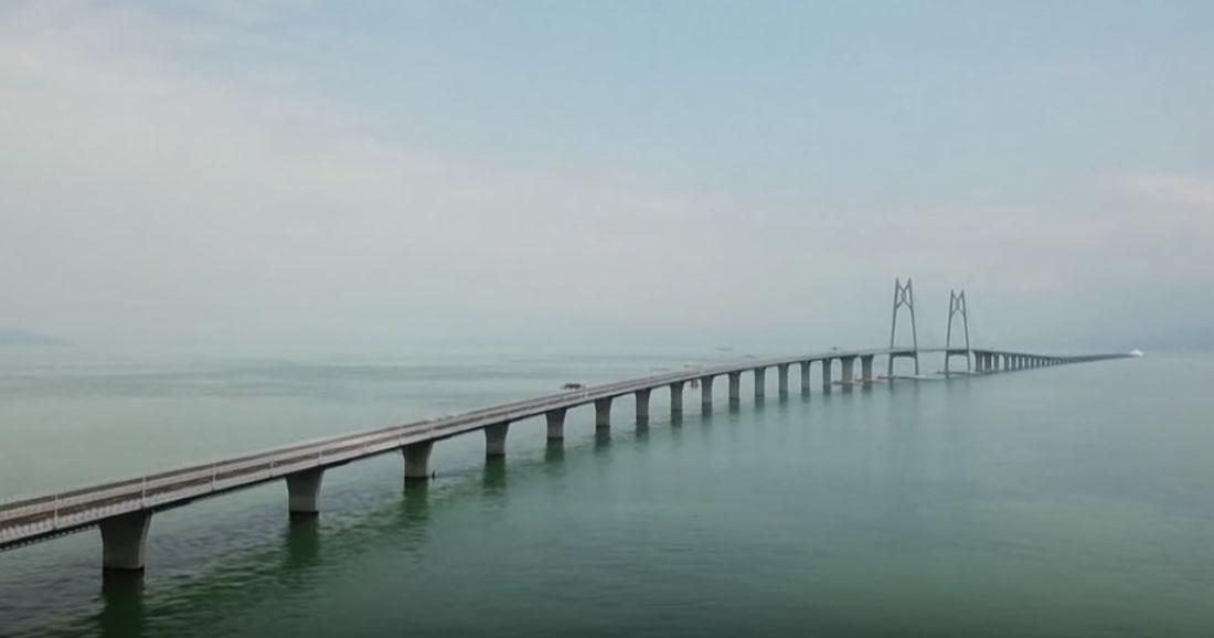Le pont le plus long du monde bientôt achevé — Chine