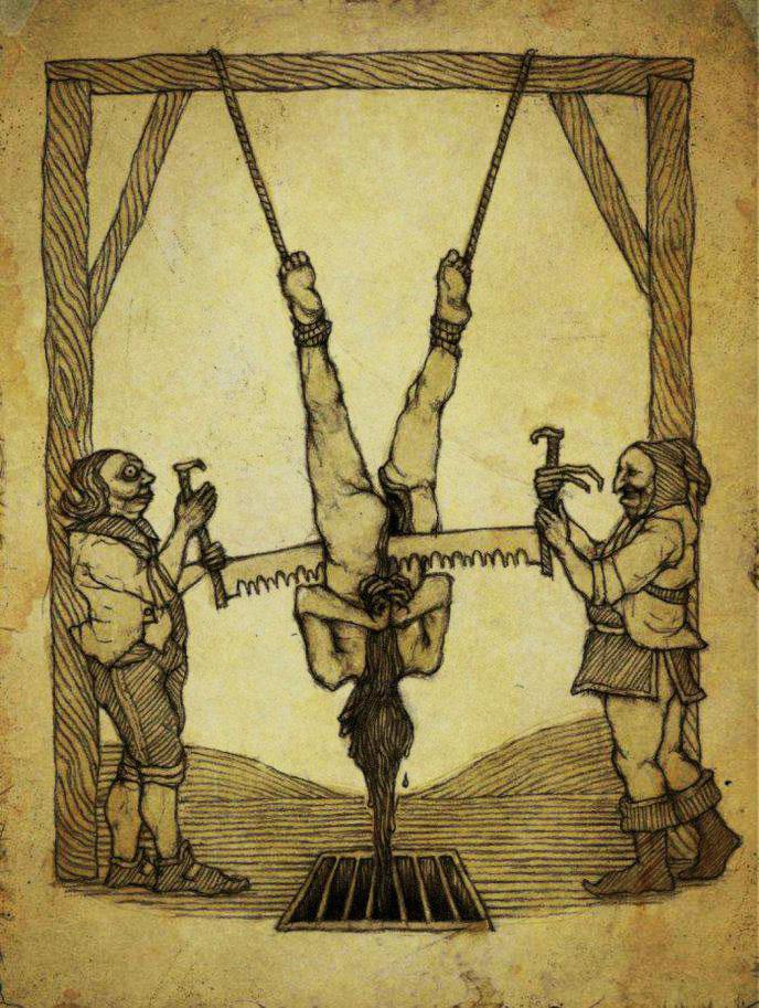 15 méthodes de torture médiévale aussi morbides que tordues ! (vidéo) Par Mathilde Rochefort Torture-medievale-2
