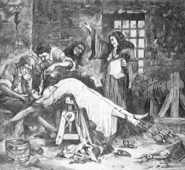 15 méthodes de torture médiévale aussi morbides que tordues ! (vidéo) Par Mathilde Rochefort Torture-par-eau