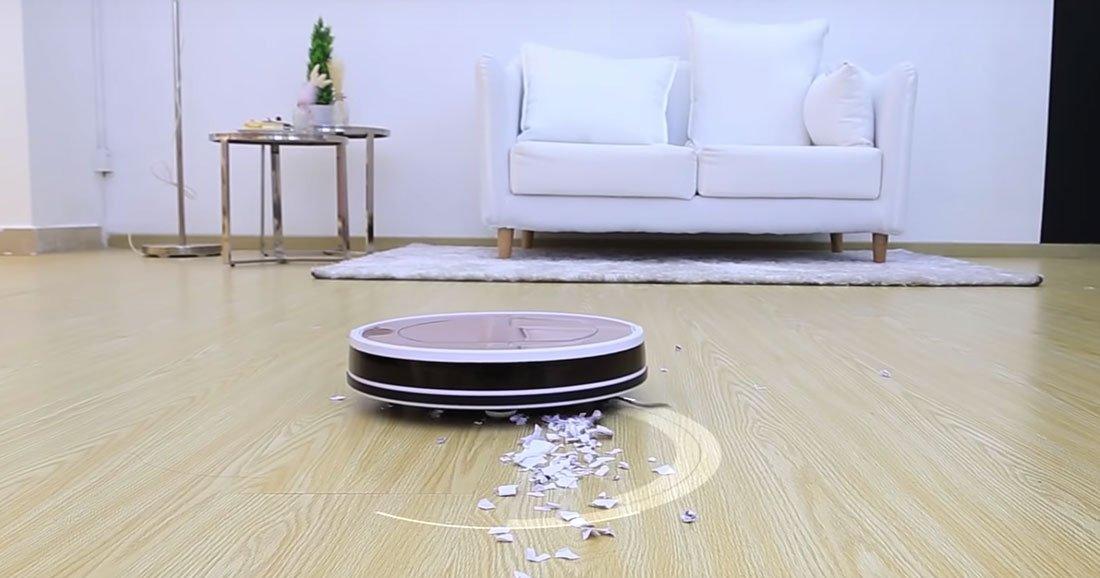 bon plan d barrassez vous de la corv e du m nage avec ce robot aspirateur en promotion daily. Black Bedroom Furniture Sets. Home Design Ideas
