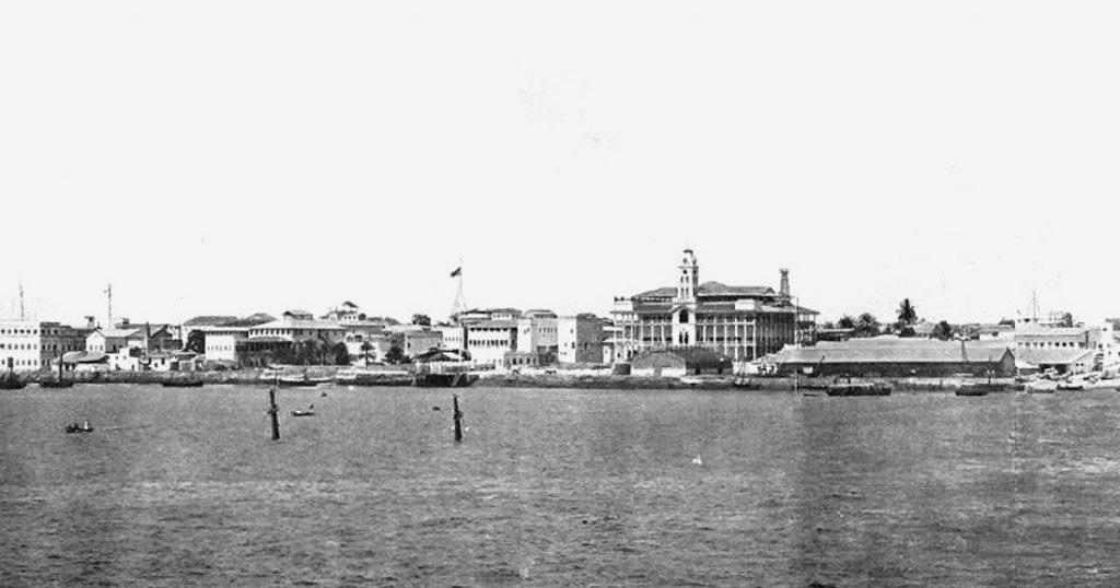 Port de Zanzibar, 1902.