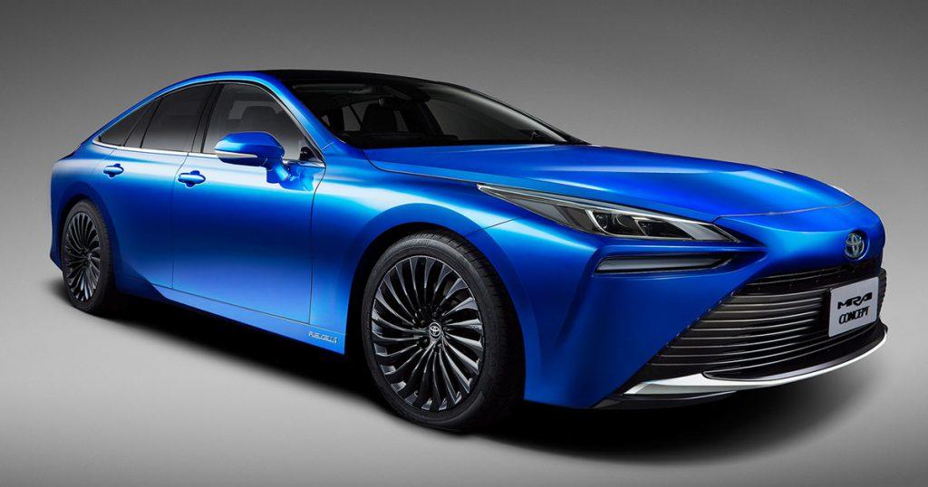 Toyota révèle la Mirai 2, sa nouvelle berline fonctionnant à l'hydrogène ! (vidéo sur Bidfoly.com) Par Andy Rakotondrabe Une-toyota-mirai-2-1024x538
