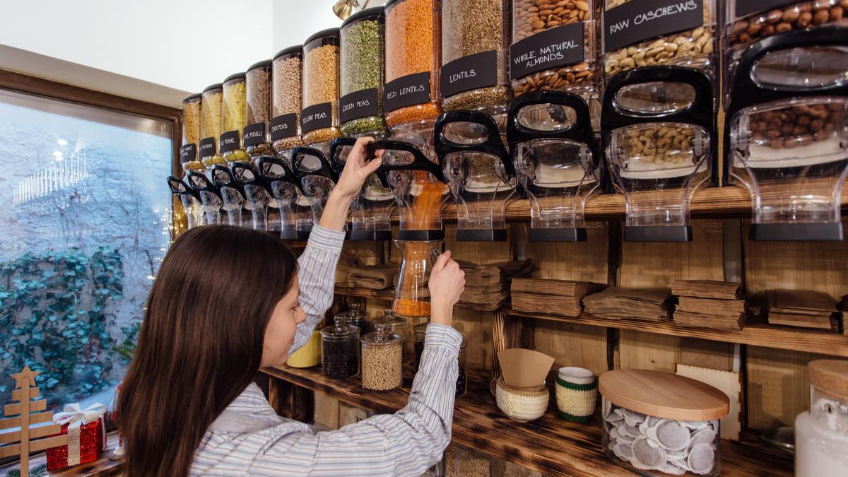 Les Français veulent un monde sans emballage : le vrac a progressé de 41 % en 2019 ! Par Cécile Breton Une-produit-vrac