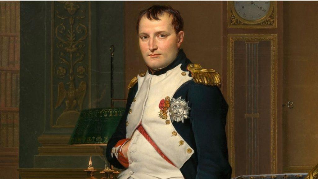 Pourquoi Napoléon gardait-il toujours sa main cachée dans sa veste ? Par Eudémone (DGS) Une-napoleon-1024x576