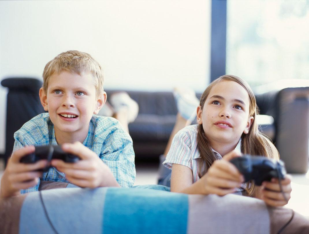 Enfants-jeux-vidéo