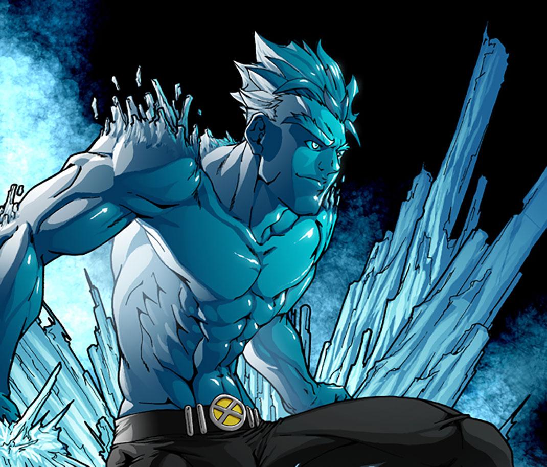 xmen-iceman-spikefull
