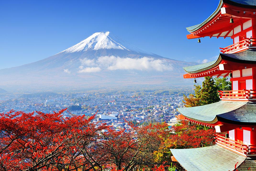 Monte-Fuji-Japon