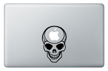 sticker-apple-mac-book-tete-de-mort-emo