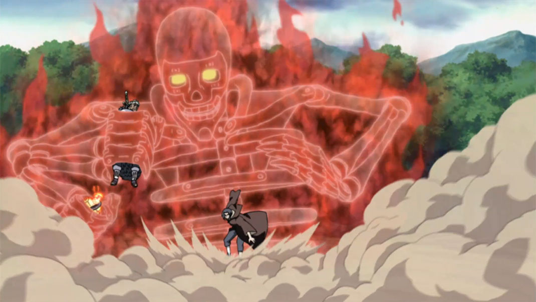 Itachi_Saves_Naruto_and_B