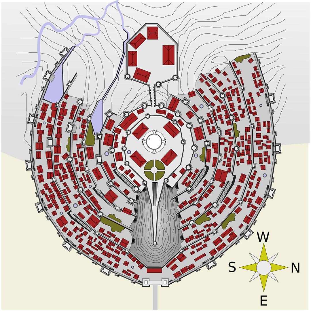 Minas-Tirith-plan