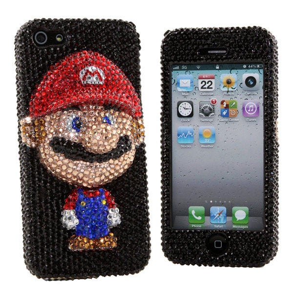Luxury-Bling-Mario-iPhone-5-Case