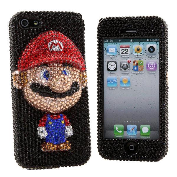 Luxury-Bling-Mario-iPhone-5-Case