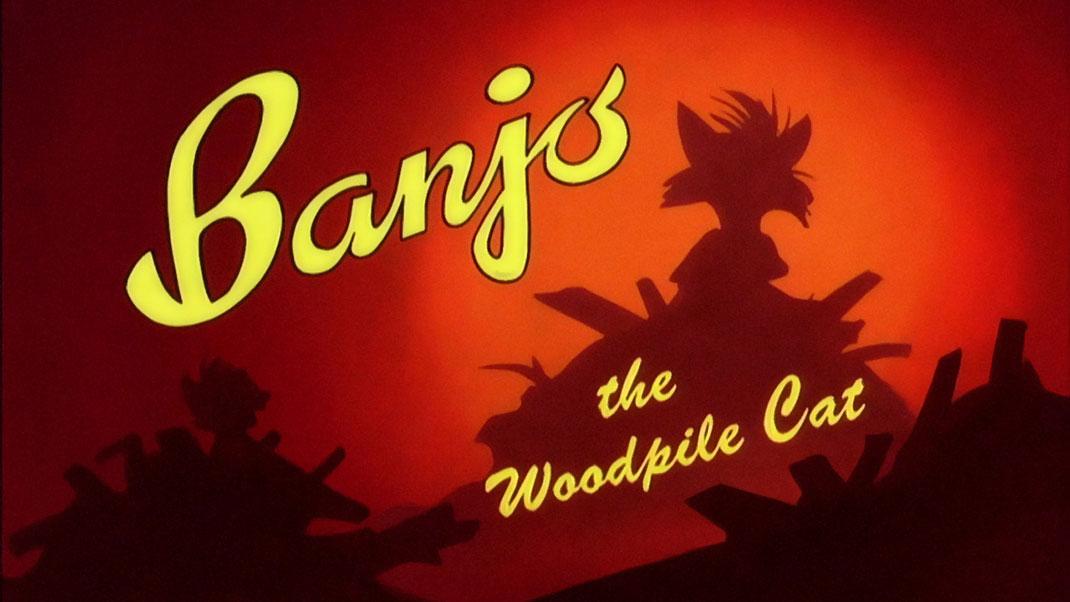 banjo-woodpile-cat