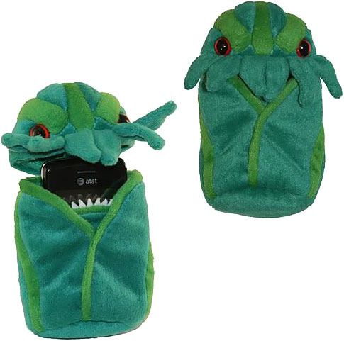 cthulh-plush-cell-phone-case
