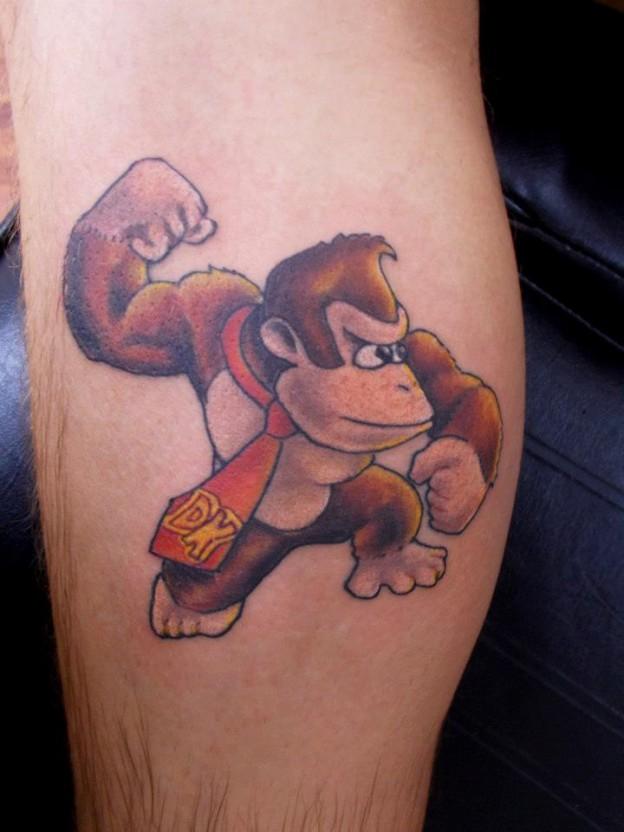 donkey-kong-tatoo