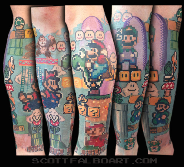univers-mario-tatoo