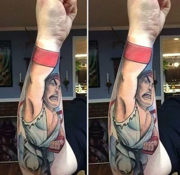 street fighter-tatoo