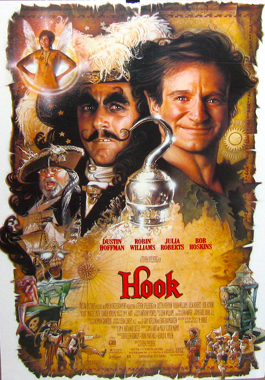 Peter Pan-affiche-Hook