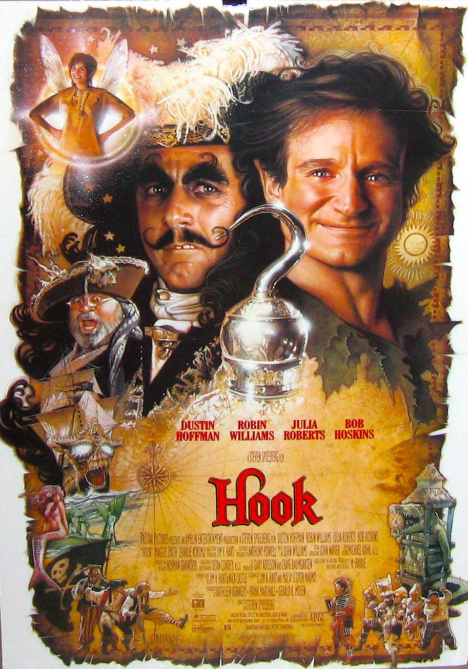 Peter Pan-affiche-Hook