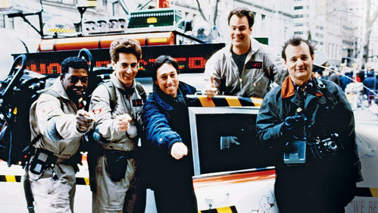 Ghostbusters-tournage
