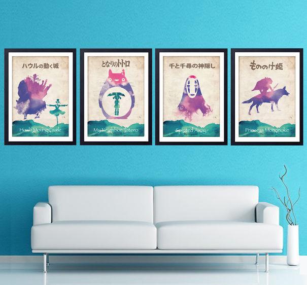 Posters-minimalistes-totoro