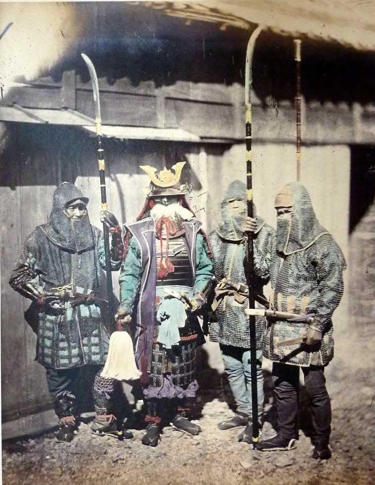 Samuraï-couleurs