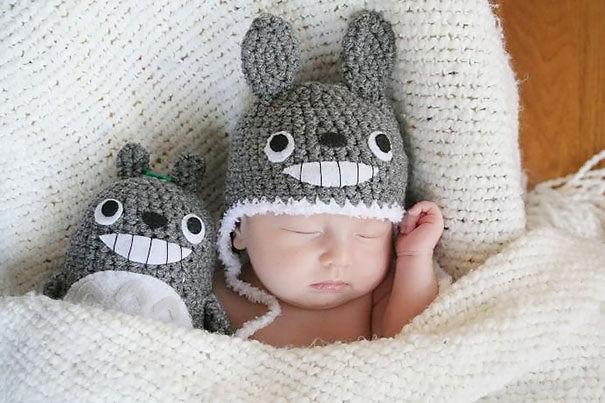 bonnet-bébé-totoro