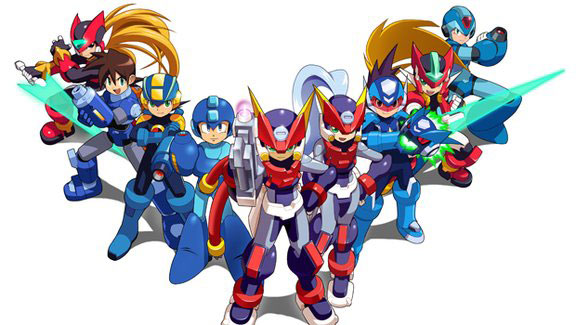 evolution-mega-man