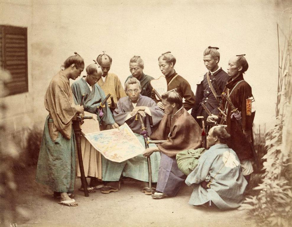 groupe-de-samouraïs
