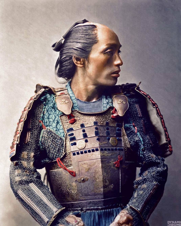portrait-samourai-couleur-japon