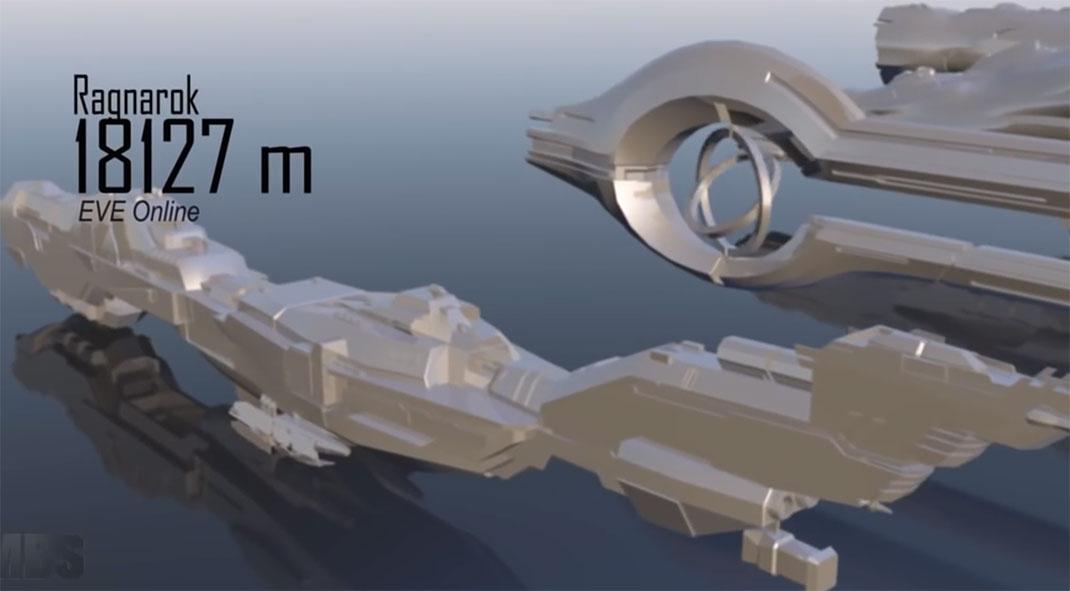 De star wars halo comparez les tailles des plus beaux vaisseaux de la science fiction - Vaisseau de dark vador ...