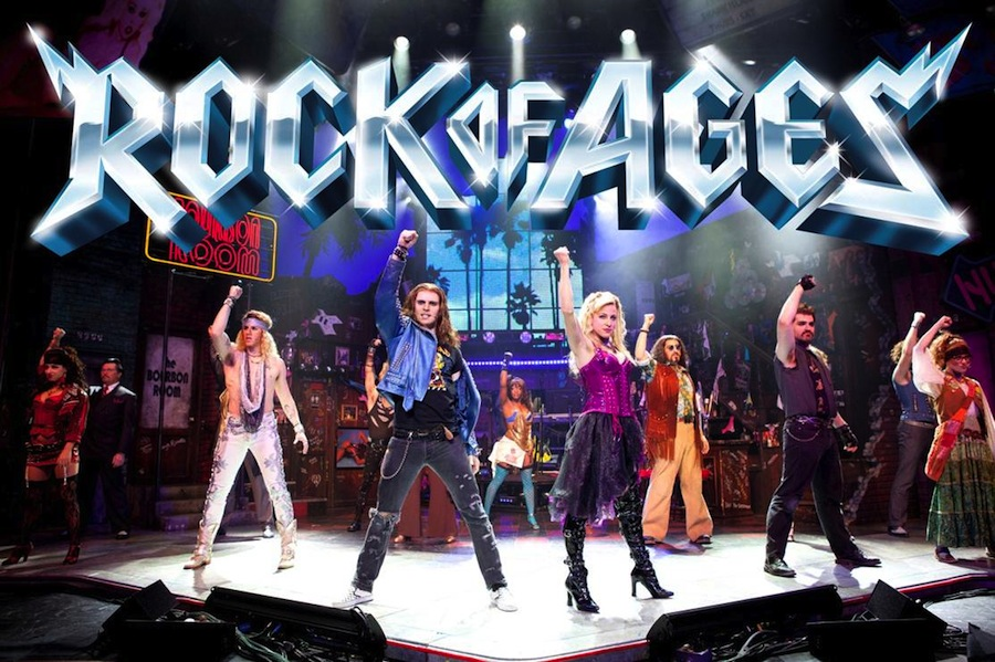"La comédie musicale ""Rock of ages"""