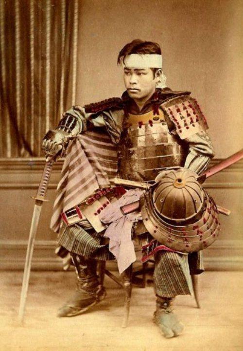 samourai-colorisé-photo