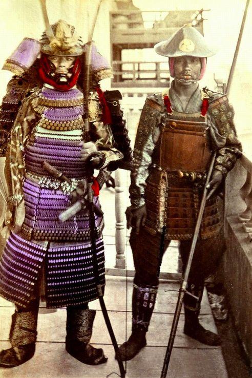 samurai-colorisés