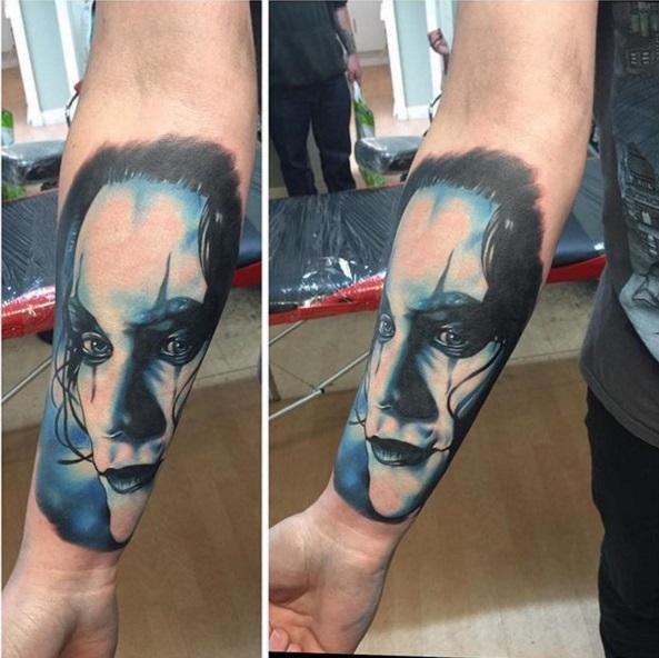 tatouage-the-crow