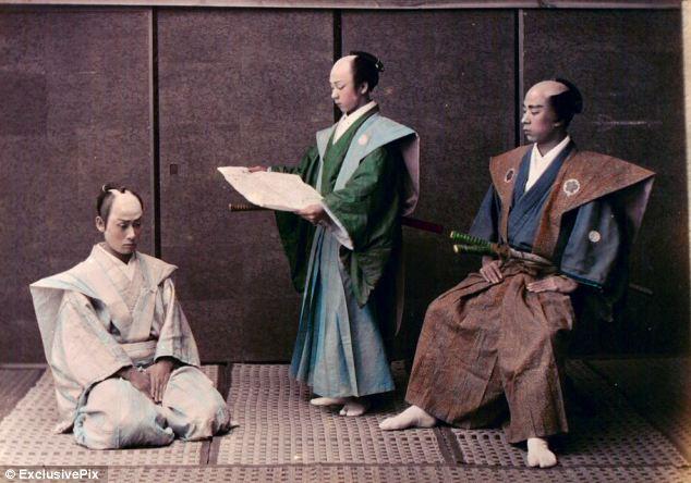 trio-samourais-japon