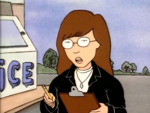 Daria Est Dans La Meme Classe Que Les Deux Adolescents Azimutes Qui Surnomment Diarrhea Diarrhee Et Subit Quotidiennement Leur Betise Profonde