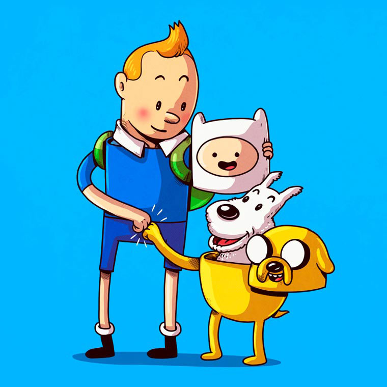 adventure-time-tintin-alex-solis