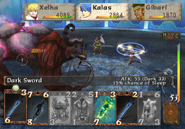 baten-kaitos-screenshot-combat