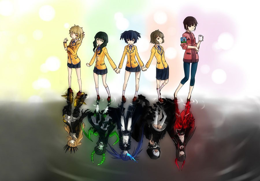 black-rock-shooter-personnages