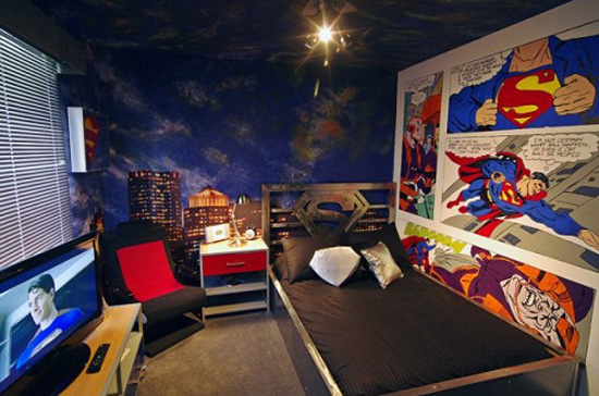 chambre-superman-2