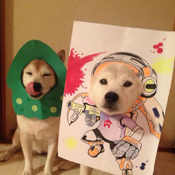 chien-cosplayeur-splatoon
