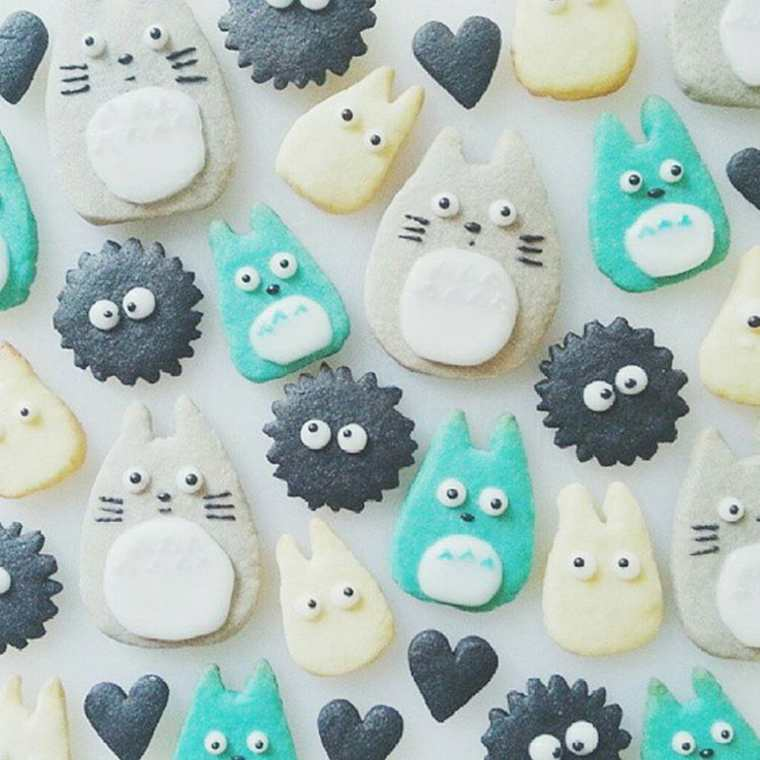 cup-cakes-totoro