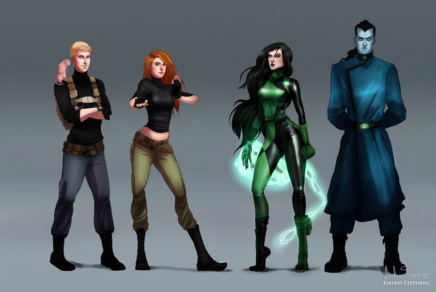 héros-enfance-kim-possible-adulte